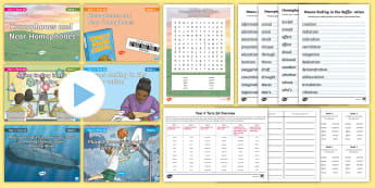 Year 4 Term 2A Bumper Spelling Pack - Spag, Gps, Lists, Spelling Test, Spring Term, spelling list packs,