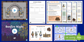 Bonfire Night KS1 Resource Pack - autumn, guy fawkes, gunpowder plot, festivals,fireworks, celebrations