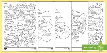 Foundation Phase Mathematical Development Assessment Flowers Assessment Pack - foundation phase profile, compact profile, wales, assessment, Assessment, FFP, using geometry skills