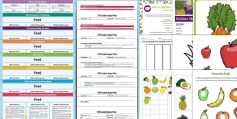EYFS Food-Themed Bumper Planning Pack - Food, Early Years planning, plan, Foundation, continuous provision, enhancements, adult led, topic p