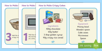 How to Make Rice Crispy Cakes -  - how to make crispy cakes, rice krispies, rice crispies, baking, easter, nests