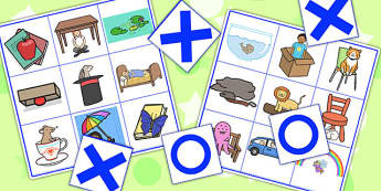 In On And Under Noughts And Crosses Game - games, SEN, SEN games