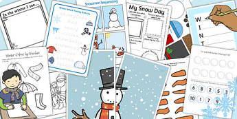 Parents Snow Activity Pack - parents, snow, activity pack, pack