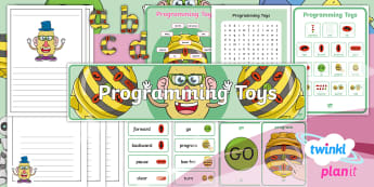 Computing: Programming Toys Year 1 Additional Resources - coding, algorithms, lego, beebot, instructions, ks1, iCT