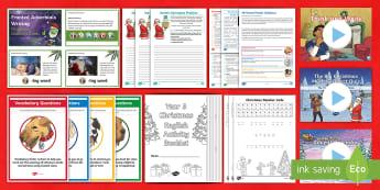 Year 5 Christmas English Bumper Resource Pack -  xmas, father christmas, santa, christmas literacy, y5, time fillers,  Xmas, Father Christmas, Santa