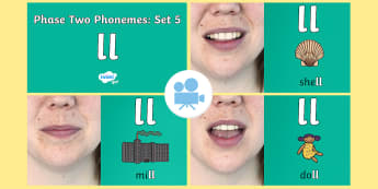 Phase 2 Phonemes : Set 5 'll' Video - Phonics, Letters and Sounds, Grapheme, pronunciation, b,f,ff,h,l,ll,ss, digraph, double, Twinkl Go, twinkl go, TwinklGo, twinklgo