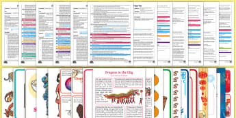 EYFS Dragons in the City Adult Input Planning and Resource Pack - Twinkl Originals, fiction, Chinese New Year, Mandarin, culture, Early Years Planning, topic plan, fo