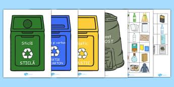 Ecologie și reciclare - Activitate de sortare