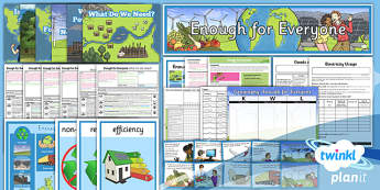 Geography: Enough for Everyone Year 5 Unit Pack