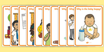 Why Question Emotion Cards - ourselves, feelings, question cards