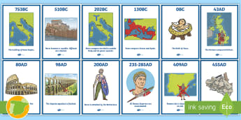 Romans in Spain Timeline Display Posters -  Romanos, Ancient Romans, Arquitectura, Architecture, Ancient History, Imperio Romano, Roman Empire