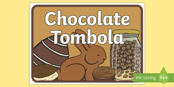 Chocolate Tombola A4 Display Poster - Chocolate Tombola Display Banner - summer, fair, display banner, abnner, fayre, summertime, Timw, ch