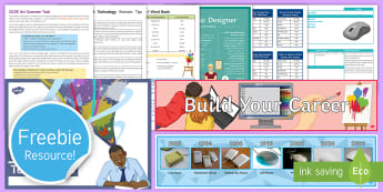 Free Secondary Art and Design and Technology Taster Resource Pack  - free secondary resource pack, free KS3 sample pack, Twinkl, free KS4 sample pack, secondary resource