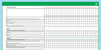 2014 Curriculum Design & Technology KS3 Assessment Spreadsheet - Teachers markbook, tech assessment, dt tracker, pupil data