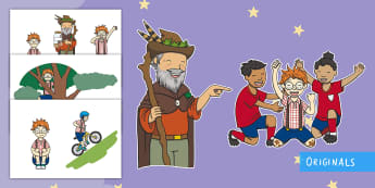 The Making of Milton Story Cut-Outs - courage, story, KS1, EYFS, story sequencing, story retelling, display, twinkl fiction, twinkl origin