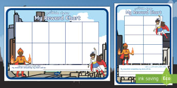 Superheroes Ten-Frame Sticker Reward Charts Arabic/English - Early years, foundation, KS1, stamps, incentives, good behaviour, Behaviour chart, ten frame, 10 fra