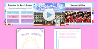 Designing The Queen's Birthday Card Resource Pack