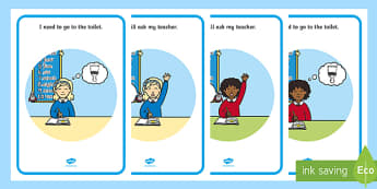 Going to the Toilet Social Situation - EYFS, Early Years, KS1, SEN, social stories, PSED, Personal, Social, Emotional Development