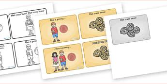 Hot Cross Buns Sequencing (4 per A4) - Hot Cross Buns, sequencing, nursery rhyme, rhyme, rhyming, nursery rhyme story, nursery rhymes, Easter, Hot Cross Bun rhyme resources
