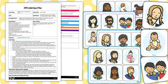 Family Game EYFS Adult Input Plan and Resource Pack - family, game, pack