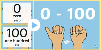 0 100 Numerals and Words Maths Counting PowerPoint English/Polish - 0 100 Numerals and Words Maths Counting PowerPoints - romans, countng, couting, numberals, coutning,