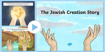 Jewish Creation Story PowerPoint - usa, america, jewish, creation story, judaism, powerpoint