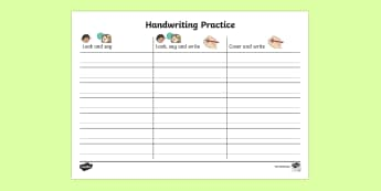 KS1 Key Words Handwriting Practice Activity Sheet - KS1 Key Words Handwriting Practice Worksheets - handwriting, letter formation, hanwriting, letterfor