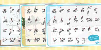 Winter Themed Letter Writing Worksheet - seasons, weather, write