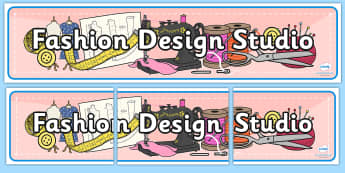 Fashion Design Studio Role Play Banner - fashion design studio, role play, banner, role play banner, header, fashion design studio banner, role play banner