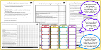 2014 National Curriculum UKS2 Years 5 6 Reading Assessment Resource Pack