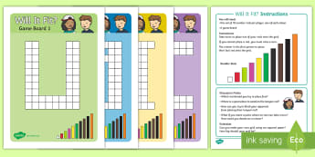 Will It Fit Number Rod Recognition Board Game - cuisenaire, number rods, game, recognise, turn taking, strategy, learning aids, maths equipment, flu