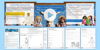 Why Should We Forgive? Lesson Pack - key stage 3 religion and crime and punishmentCrimePunishmentForgivenessReconciliation