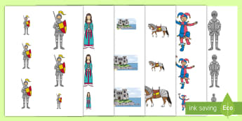 Castles and Knights Size Ordering - castle, knight, size, order