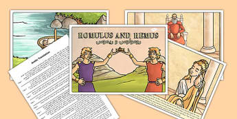 Romulus and Remus Story Arabic Translation - arabic, romulus, remus, story