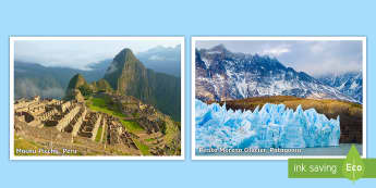 South America Display Photos -  - South American, americas, landmarks, south America display, amazon, Chile, Brazil, PlanIt - Geograph