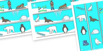 Winter Display Borders - display, dispaly border, border, classroom display border, winter display borders, winter, winter borders, winter display, border for a display, edging, display edging