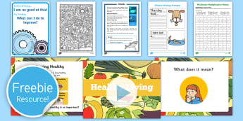 Free Taster Resource Pack - freebie, english, sample, bumper, taste, tester, try, teaching, language