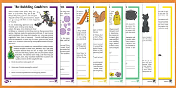 Halloween Differentiated Reading Comprehension Activity Pack
