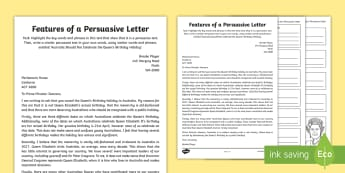 The Queen's Birthday Persuasive Letter and Planning Activity - Queen, Queen Elizabeth, persuasive letter, persuasive text, writing plan, Australia