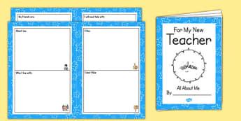 My New Teacher Booklet SEN - new teacher, booklet, sen, new