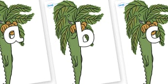 Phoneme Set on Trick One to Support Teaching on The Enormous Crocodile - Phoneme set, phonemes, phoneme, Letters and Sounds, DfES, display, Phase 1, Phase 2, Phase 3, Phase 5, Foundation, Literacy