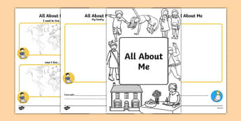 ESL All About Me Booklet