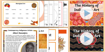 Traditional Aboriginal Art  Activity Pack - Australia Traditional Indigenous Art,Australia