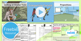 Free KS2 Planit Taster Resource Pack - freebie, sample, bumper, test, tester