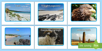Pasgan-dhealbhan-camara nan Eilean Albannach Photo Pack Gaelic - Pacaid,Dealbh,Dealbhan,Camara,Photo,Pack,Gaelic,Gàidhlig,Foghlam tron Ghàidhlig,Eilean,Eileanan,Al