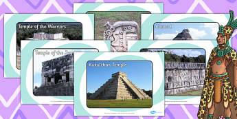 Ancient Maya Chichen Itza Display Photos - maya, ancient maya
