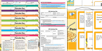 EYFS Pancake Day Bumper Planning Pack - Pancake Day, Shrove Tuesday, eyfs, early years planning, continuous provision, adult led, finger gym
