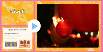 PowerPoint : Diwali - Religion, cycle 3, Inde, Dieux, célébration,French