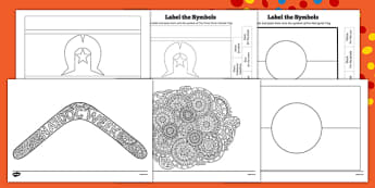 NAIDOC Week Colouring Pages-Australia