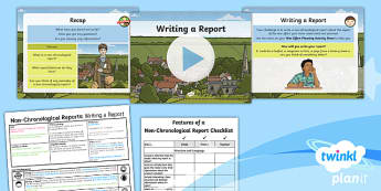 PlanIt Y5 World War II: To Support Teaching on Goodnight Mister Tom Lesson Pack Non-Chronological Reports (2)